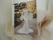 Nwt Ivoire By Kitty Chen Romantic Style Aviva Ivory Color Wedding Gown Sz 12