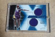 2000-01 Kobe Bryant Ud Spx Game Winning Materials Game Used Jersey+ Warm Up
