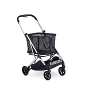 Joovy Boot Lightweight Shopping Cart With Reusable Removable Shopping Bag With