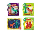 Gumby And Friends Bendable Figure Blockheads Pokey In Disguise