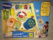 Vtech Sit-to-stand Learn And Discover Floor And Table Sound Effects Lights Pattern