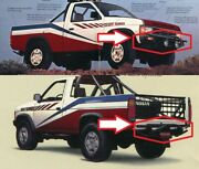 Nissan Desert Runner Bumpers - Both The Front And The Rear