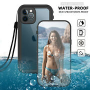 For Iphone 1212 Pro Max 5g Waterproof Case Cover With Built-in Screen Protector