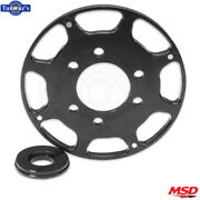 Msd 7'' Replacement Wheel Flying Magnet Crank Trigger Fits Sb Chevy - Black
