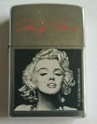 Zippo Lighter Marilyn Monroe Preowned Good Condition