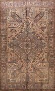 Excellent Vintage Geometric Traditional Oriental Area Rug Hand-knotted Wool 8x10