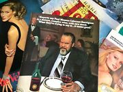 1982 Vintage 30+ Print Ads Alcohol Drinks Orson Wells Gin Wine Whiskey Beer 8x10