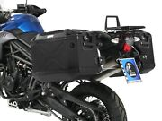Hepco Becker Suitcase Set Including Carrier Triumph Tiger 800/xc To 2014 Black
