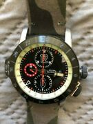 New Authentic Glycine Airman Airfighter Gl0048 Automatic Chronograph Menand039s Watch