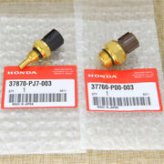 New Set Of Cooling Fan Switch And Coolant Sensor Fit Honda Odyssey Accord Acura