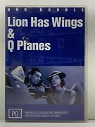 Dvd - The Lion Has Wings And Q Planes Rare - Free Post P3