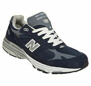 New Balance 993 Mr993 Size 12 D Us Made In America Navy Blue Discontinued Rare