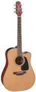 Takamine P1dc Pro Series Dreadnought Cutaway Acoustic Electric Guitar With Case