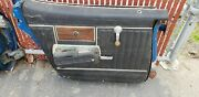 1969 Chevy Impala 4 Dr Caprice Black Door Panel1 Yr Only