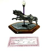 Michael Ricker Pewter American Carousel Horse Collection No.608 Horse 3 Gail
