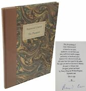 Ray Carver / The Pheasant One Of 26 Signed Lettered First Edition 1982
