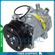 A/c Compressor For Ford New Holland Bale Wagon, Ts, Windrower Qu