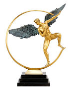 Guardian Angel - Limited Angel Sculpture Made From Bronze - Martin Small