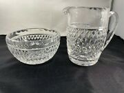 Waterford Crystal Creamer And Open Sugar Set Giftware