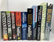 James Patterson - Lot Of 10 Books - Burn Maximum Ride 1st To Die Trial And More