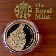2012 Royal Mint Charles Dickens Andpound2 Two Pound Gold Proof Coin Box Coa