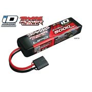 Traxxas 2872x Lipo Battery 3s 11.1v 3 -cell 5000mah 25c W/id Connector