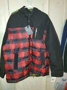 Pendleton Red And Black Lumberjack Mens Xxl Jacket New With Tags