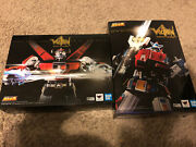 Soul Of Chogokin Voltron Gx-71 And Gx-88 Selling As A Set. Opened And Displayed.