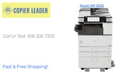 Ricoh Mp 3053 - B/w Print-scan-fax Low Meter/finisher Included