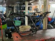 1986 Honda Shadow Vt 1100 Vt1100 Motorcycle Frame Straight Chassis