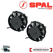 Spal Dual 6.5 Low Profile Straight Blade Electric Puller Fan 325cfm