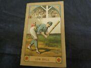 Vintage Low Ball Rochesters Vs Stars Official Score Card Baseball Advertising