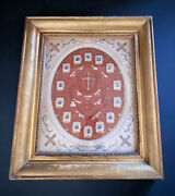Old Reliquary Theca Via Crucis Holy Cross Holy Land 19th.
