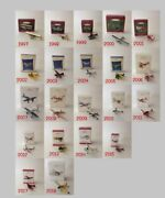 Hallmark Skyand039s The Limit Collectors Series Ornament 21 Pc Lot