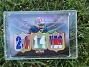 Topps Triple Threads Thurman Thomas Game Jersey Football Trading Card 1/12010