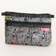 Lesportsac Hello Kitty Travel Makeup Pouch Cosmetic Case Bag Purse Japan M4470