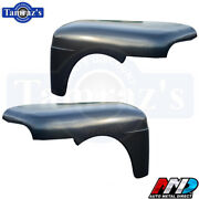 1951-1952 Ford F1 Pickup Truck Fender - Pair Amd New