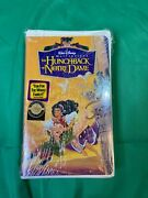 The Hunchback Of Notre Dame Vhs 1997 Walt Disney Masterpiece Collection 7955