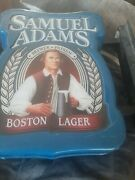 Electric Samuel Adams Boston Lager Everbrite Beer Sign Collectible Double Sided