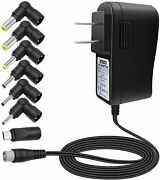 10w Multi Tip Ac Power Adapter Wall Charger For Android Tablets Webcam Routers