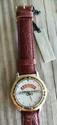 Rare Collectable Jorg Gray Baileys Watch New Brown Leather