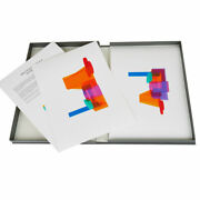 Peter Saville Signed Portfolio X4 Giclee Print Tate Modern Limited Edition Boxed