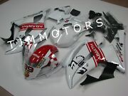 For Yzf R6 08-16 Abs Injection Mold Bodywork Fairing Kit Plastic Pearl White Red