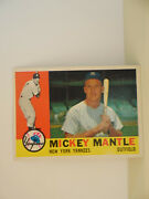 Mickey Mantle Baseball Card- New York Yankees- Outfield
