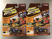 Lot Of 2 Johnny Lightning 1962 Chevy Convair Cars N Coffee Muscle Cars U.s.a.