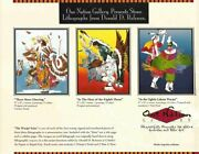 Collectorand039s Set Of Eleven 11 Prints By Sioux Artist Donald Ruleaux