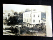 1908 Olmstead Falls Ohio Cuyahoga County Damps Mill Real Photo Postcard Rppc
