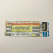 Dr Dre Snoop Dogg Conseco Fieldhouse Up Smoke Concert Ticket Stub Vintage 2000