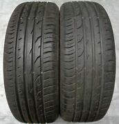 2 Summer Tyre Continental Contipremiumcontact 2 205/55 R17 91v Ra1397