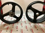 Pair Wheels Used Original For Ducati 748/916/996/998 50120191a/50210101a
